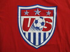 TEAM USA SOCCER T SHIRT National Olympic World Cup Red NIKE Tee Unisex Adult XL