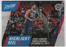 2017-18 Panini Prestige Basketball Highlight Reel #1 Ben Simmons 76ers