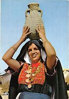 BR4702 Beduin Women with her water jar on her head  iraq types folklore