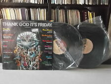 V.A Thank god its Friday | DONNA SUMMER SOUNDTRACK 2LPs EX GATEFOLD MEXICAN ED.