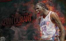 "04 Kevin Durant OKC Thunder USA NBA MVP Star 22""x14"" Poster"