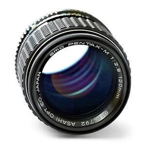 Mint SMC Pentax-M 120mm f/2.8 Prime Lens K-Mount Asahi  F2.8 1:2.8