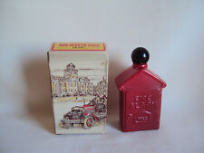 COLLECTIBLE AVON BOTTLES FIRE ALARM HAIR LOTION FOR MEN UNUSED IN BOX