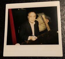 Jake LaMotta Kodak Instant Polaroid Photo 1980's Vintage Original Photograph b