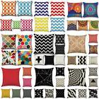 Geometric Office Sofa Bed Car Waist Throw Cushion Cover Decor Home Pillow Case