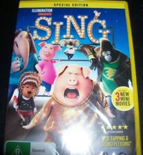 SING - SPECIAL EDITION - Kids Animated (Australia Region 4) DVD - NEW