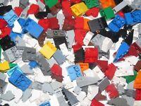Lego ® Gros lot Vrac 100g Briques Slope Inverted Brick Mix Modèle & Couleur NEW