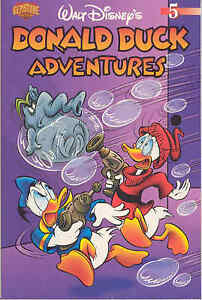 WALT DISNEY'S DONALD DUCK ADVENTURES VOLUME 05 DIGEST 2004 GEMSTONE PUBLISHING