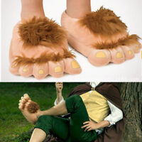 Halfling Furry Adventure Adult Slippers By Think Geek -One Size Fits Most 8016