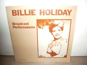 Billie Holiday - Broadcast Performances US RARE 2xLP JAZZ VOCAL SWING