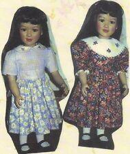 Sewing Pattern fits 23� My Twinn Doll dress,romper,smock,overal ls