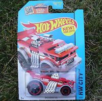 RED Backdrafter Fire Engine. Hot Wheels CFG75. New in Blister Package!