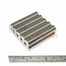 500 Magnets 10x1 mm Neodymium Disc strong neo craft magnet 10mm dia x 1mm fridge