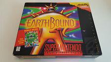 Earthbound GREAT CONDITION original Super Nintendo Snes  Big box