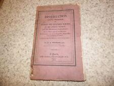 1834.Dissertation sur propriété arbres des grandes routes.droit.Guichard