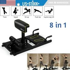 Sissy Squat Machine Trainer Exercise Strength Training Home Gym Fitness Workout