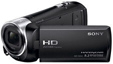 Sony Hdr CX240 2.7 Inch 9.2MP 54x 320x Optical Zoom Camcorder - Black.