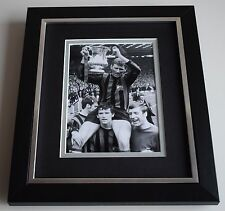 Tony Book SIGNED 10X8 FRAMED Photo Autograph Display Manchester City AFTAL COA