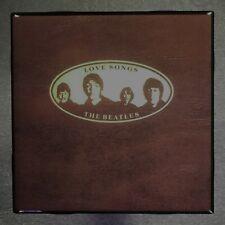 THE BEATLES Love Songs Coaster Custom Ceramic Tile