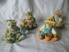 lot 4 enesco calico kittens best gift of all friendship stitch seeds grows