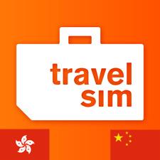 TravelSim Prepaid Sim Karte mit 2 GB Daten/ für 30 Tage (China & Hongkong)