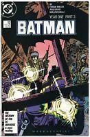 Batman 406 DC 1987 NM- 1st Print Year One Frank Miller Catwoman