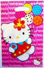 HELLO KITTY PARTY LOOT/LOLLY BAGS - PARTY SUPPLIES - PACK OF 10