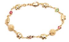 Lucky Elephant Charm Anklet Sevil 18K Gold Plated