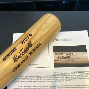 Mickey Mantle & Roger Maris Signed Autographed Baseball Bat With JSA COA