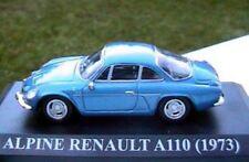 ALPINE RENAULT A110 1973 NEW 1/43 BLEU BLUE RACING IXO