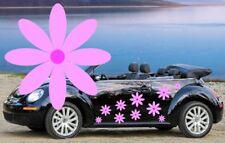 32 Rosa Daisy Flor automóvil pegatinas, pegatinas de ventana del gráfico, pantalla de Ducha, Pared,