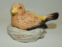 Red Parrot Salt and Pepper Shaker-Mid Century-Vintage-Lustreware-Audubon Society-Bird-Red Bird-Collectible