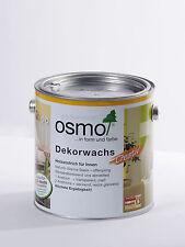 """Osmo """"Dekorwachs Creativ"""" 3188 Schnee 0,75 Liter Sonderpreis, B-Ware"""