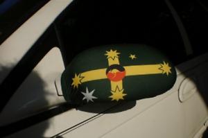 Aussie flag mirror socks