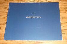 Original 1995 Chevrolet Beretta Sales Brochure 95 Chevy