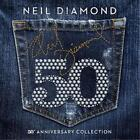 NEIL DIAMOND 50th ANNIVERSARY COLLECTION 3 CD NEW
