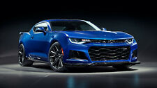 Chevrolet Camaro ZL1 2019 ART Auto Car Silk Wall Art Poster Print - 24x36 inch
