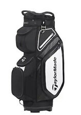 Taylormade 8.0 Cart Golf Bag - Black/Charcoal/white- 14 way top