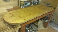 D End Kitchen & Dining Tables with Drop Leaf