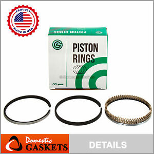 Made in USA Piston Rings Fit Suzuki Grand Vitara Suzuki XL-7 2.7L DOHC H27A 24V