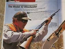 GUNS & AMMO TESTS CZ-3, WINCHESTER 70 STEALTH, WINCHESTER 42 + 204 LOADS