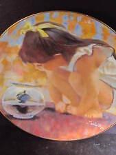 Viletta Portraits of Childhood Thornton Utz TURTLE TALK  Box & Cert Ltd Ed plate
