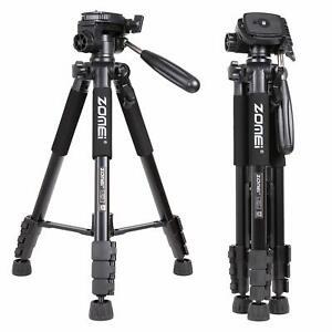 ZOMEi Q111 Aluminium Tripod Heavy Duty Travel PanHead Flexible For DSLR Camera