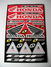 New Honda Motocross Enduro Decals Sticker Kit Cr Crf Xr Xlr Ec Mtx Crf450