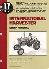 Repair-Rebuild IH Farmall C, Cub, H, Super H, HV, M, Super M Gas Tractor Manual