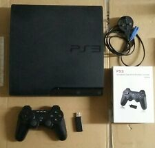 PS3 slim Sony Playstation 3 160GB CECH-3003A Console FAULTY wifi card
