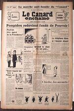 Le CANARD ENCHAINE numero 2270 du 22 avril 1964