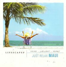 Just Relax: Maui by Ed Smith (CD, 2005, Lifescapes Music)-FREE SHIPPING-