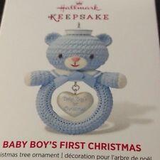 2014 Hallmark Baby Boy's First Christmas Ornament