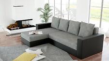 Sofa Couchgarnitur Ecksofa Couch ARON Wohnlandschaft mit Schlaffunktion NEU
